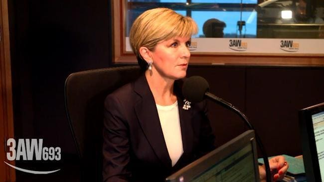 Julie Bishop gets stumped on superannuation