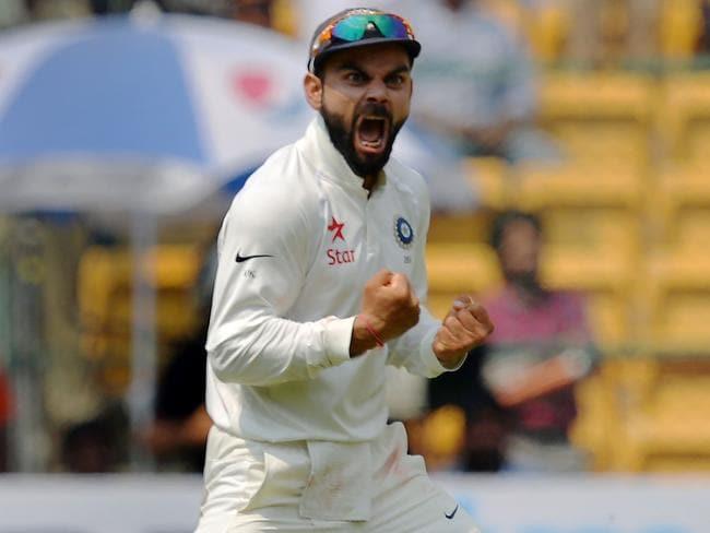 Indian cricket captain Virat Kohli.