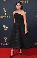 Maura Tierney attends the 68th Annual Primetime Emmy Awards on September 18, 2016 in Los Angeles, California. Picture: AP