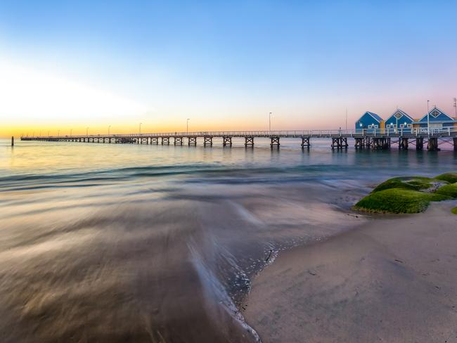 Busselton Jetty at Sunset.