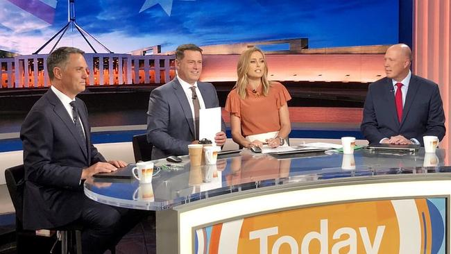 Dutton is a regular guest on the Today show.