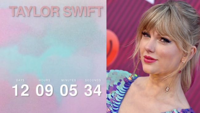 Taylor Swift Just Launched A Cryptic Countdown Clock #TS7