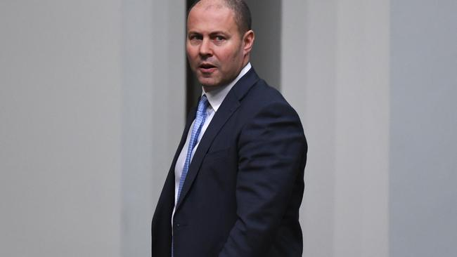 Mr Frydenberg says it's in the best interests of the economy for businesses to increase productivity. Picture: AAP