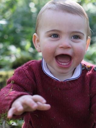 Britain's Prince Louis of Cambridge. Picture: AFP
