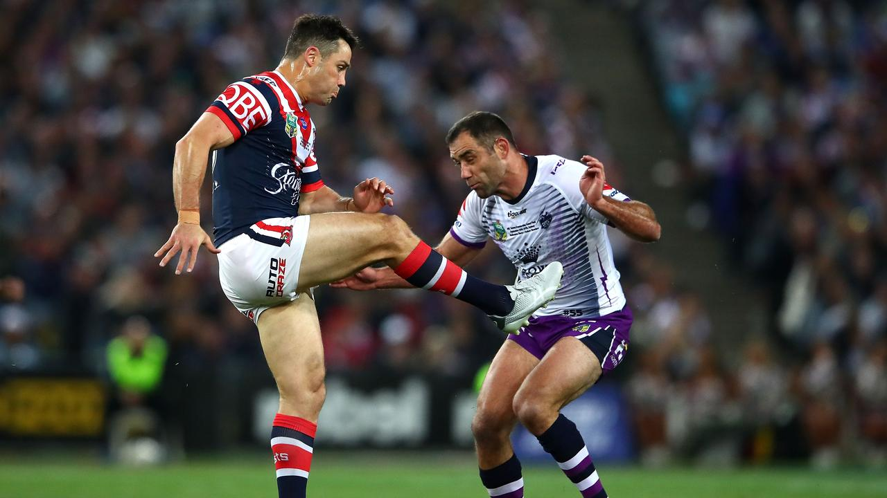 Cooper Cronk and Cameron Smith's relationship has reportedly been strained since Cronk left the Storm after the 2017 Grand Final.