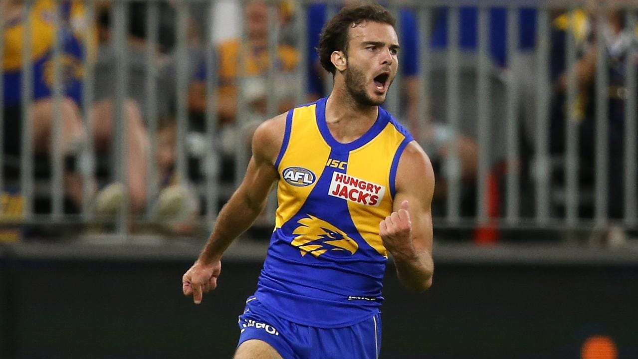 Jack Petruccelle of the Eagles has had mixed form in SuperCoach so far