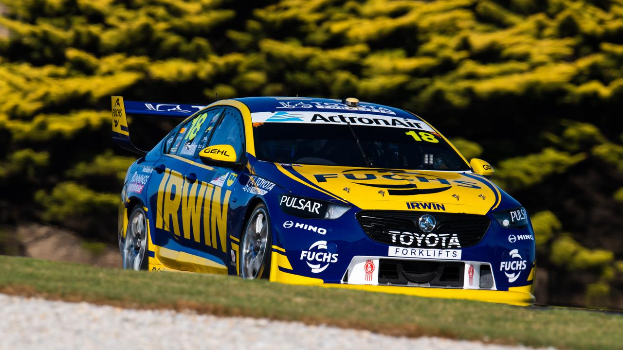 Schwerkolt's team has moved forward with Winterbottom at the wheel.