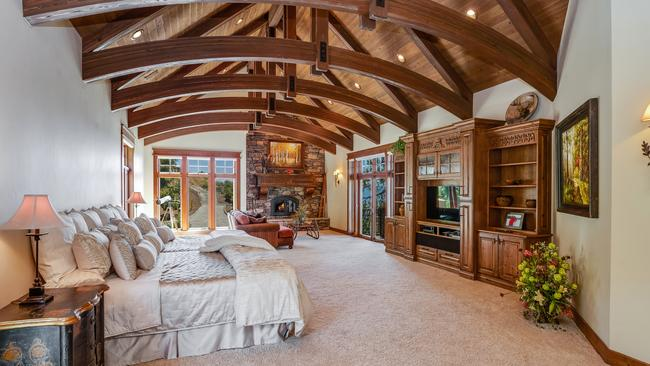 Now that's a big bedroom. Picture: Berkshire Hathaway