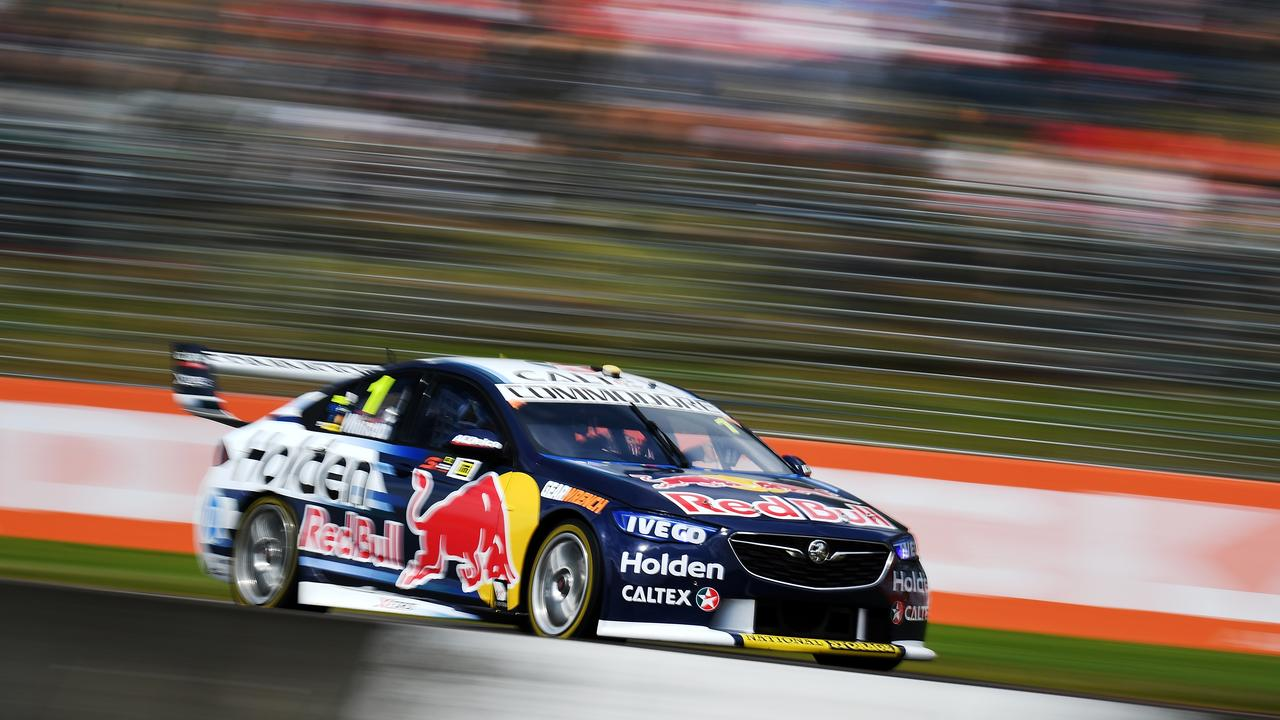 Jamie Whincup grabbed the 80th pole of his career.
