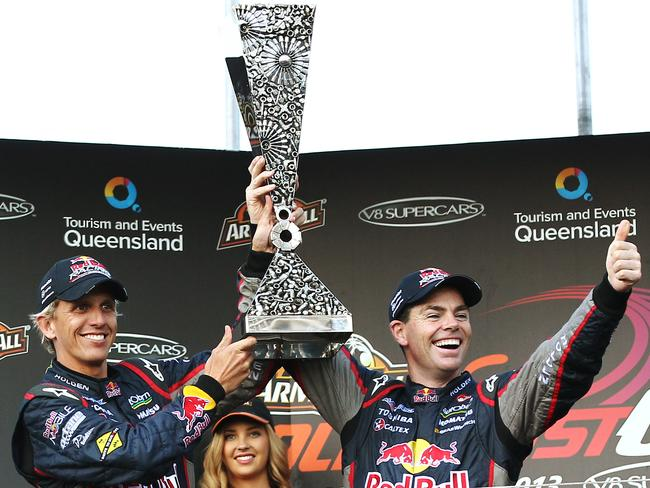 2013: Lowndes and Luff clinch the inaugural Pirtek Enduro Cup.
