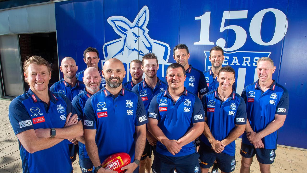 North Melbourne's coaching panel has undergone major change in the past 12 months.