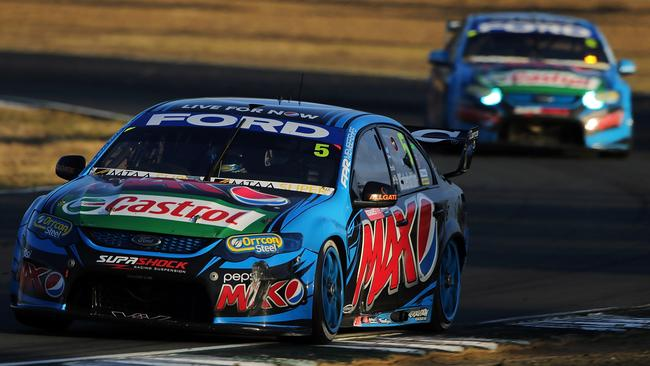 Winterbottom and Mostert in the two factory-backed FPR Falcons.