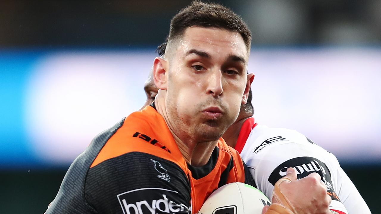 Ryan Matterson of the Tigers could walk out on the club.