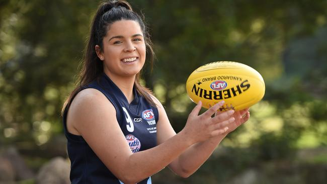 Madison Prespakis is one of the top talents available in the AFLW draft this year.