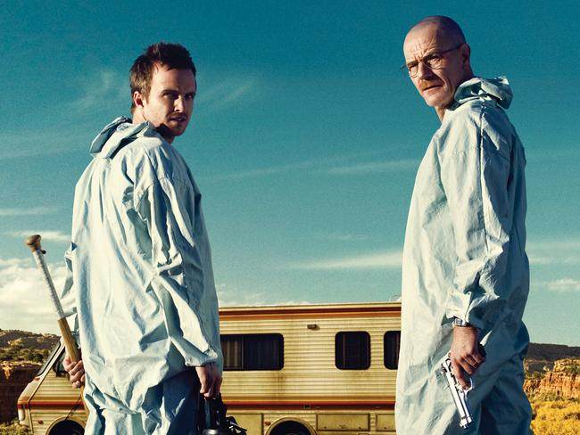 Must-watch drama …  <i>Breaking Bad</i>.
