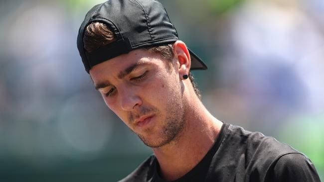 Thanasi Kokkinakis is looking to finish the year strongly. Picture: Getty.
