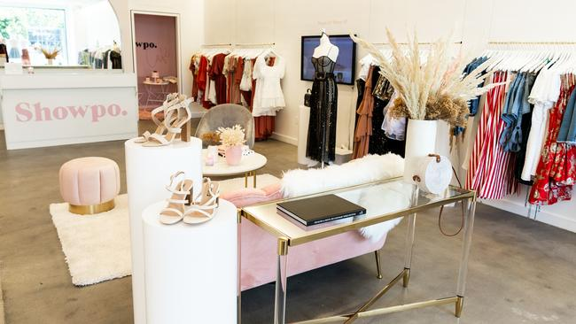 Inside the LA pop-up.