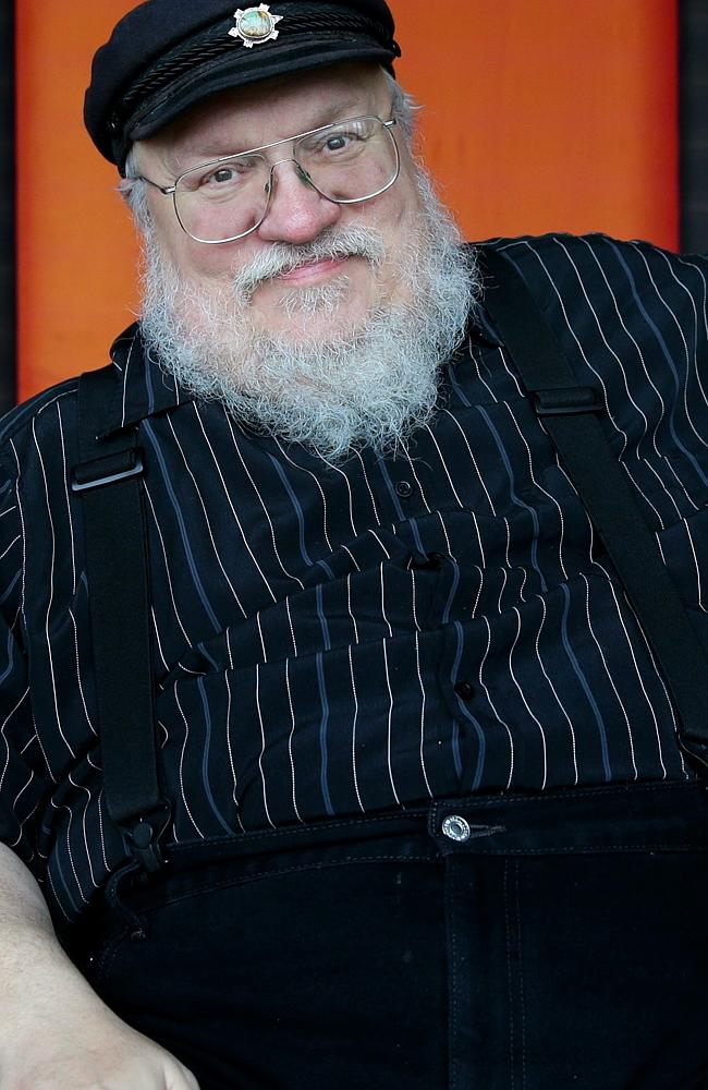George R.R. Martin, the author of the Song of Ice and Fire series.