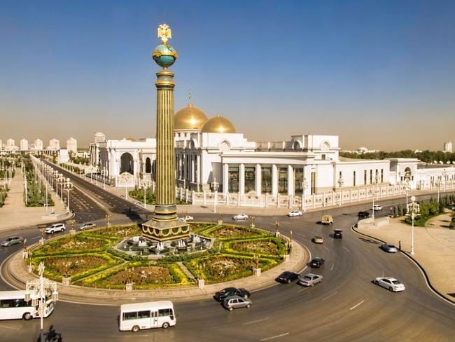 You'll need an invitation to enter Turkmenistan.