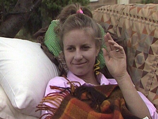 Anne Tenney as Molly on A Country Practice. Picture: Channel 7