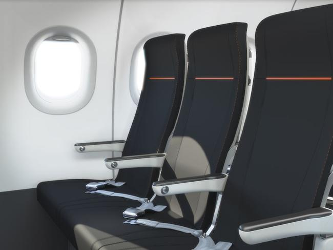 There are 232 seats on board. Picture: Jetstar