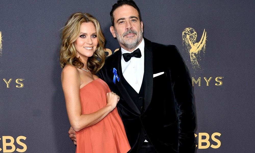 Oops. Walking Dead star Jeffrey Dean Morgan spilled some very personal news