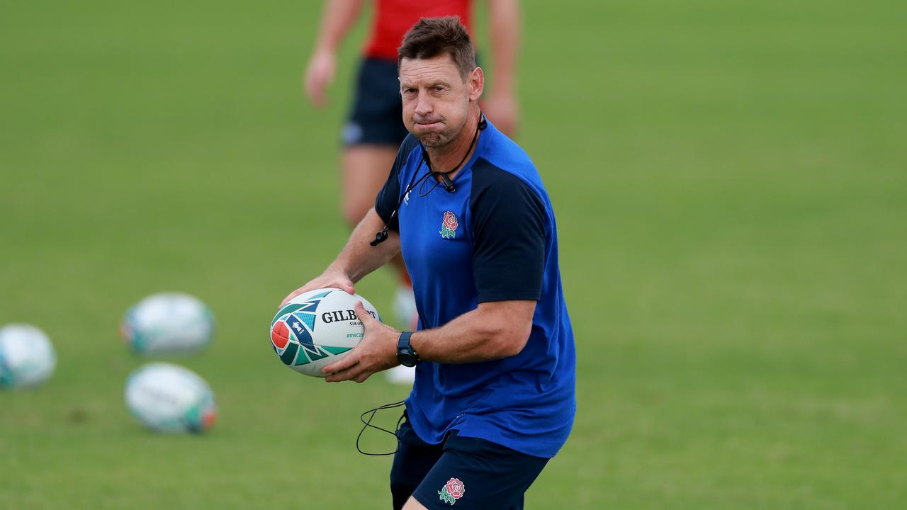 Scott Wisemantel during an England training session at Fuchu Asahi Football Park.