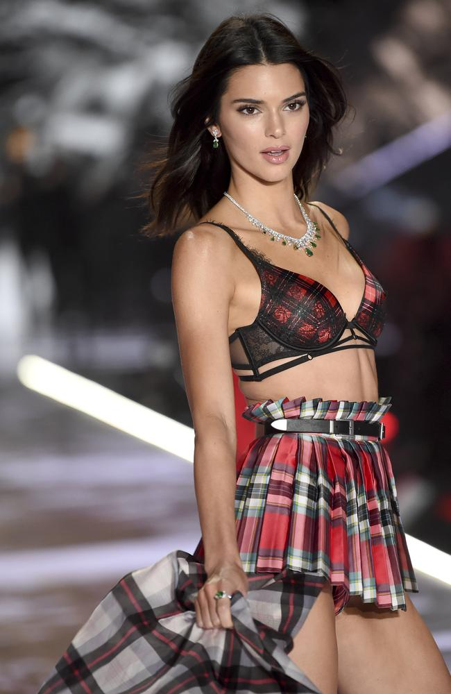 Kendall Jenner. I think we can all agree this should have been accessorised with bagpipes.