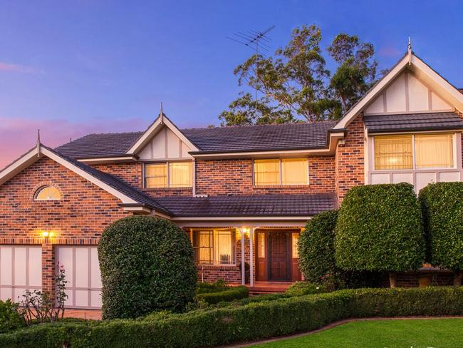 This property in Jade Place, West Pennant Hills has a guide of $1.95 million – $2.1 million.