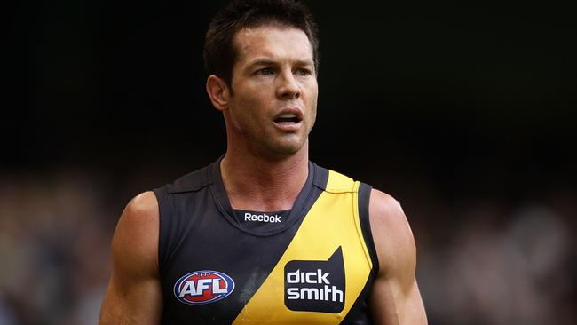 """Cousins' lawyer said the former AFL player """"wants to address his problems"""". Picture: Getty."""