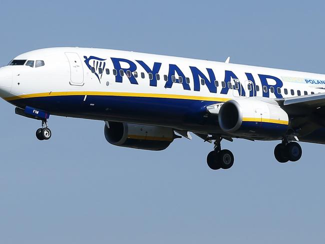 Ryanair said it was investigating the incident. Picture: Pau Barrena/AFP