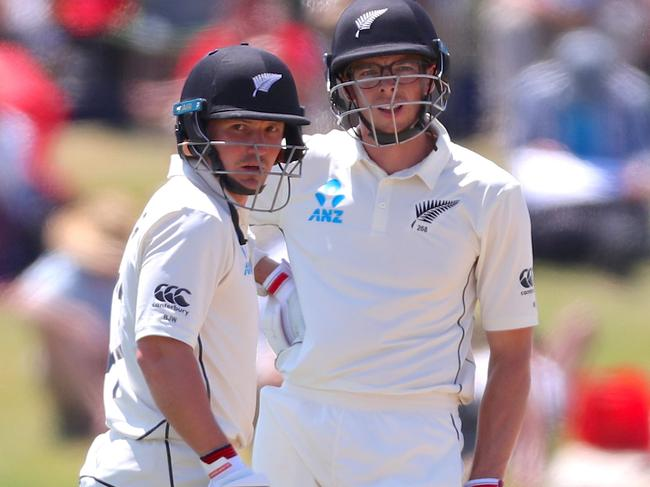 BJ Watling and Mitchell Santner made life miserable for England.