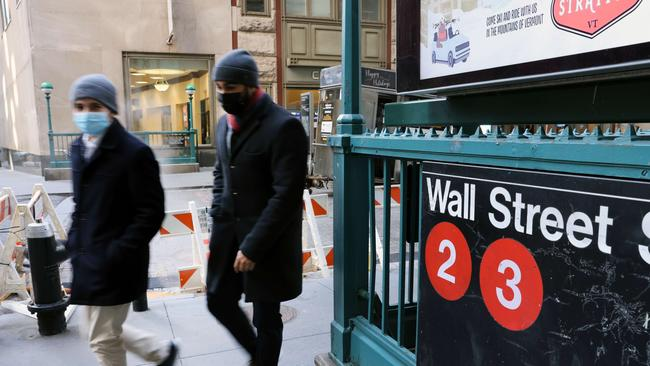 Major hedge fund managers have lost billions as Reddit renegades target the 'fat cats' on Wall Street. Picture: AFP
