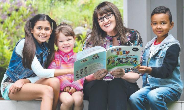 The children's book restoring