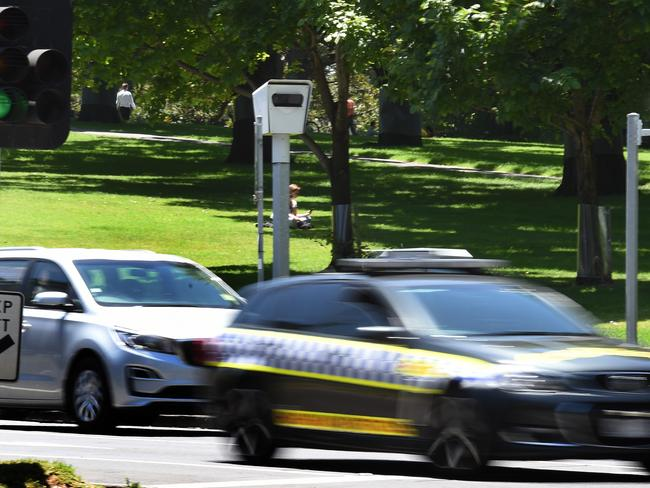 The new speed cameras have resulted in a staggering increase in infringements being issued. Picture: Tony Gough