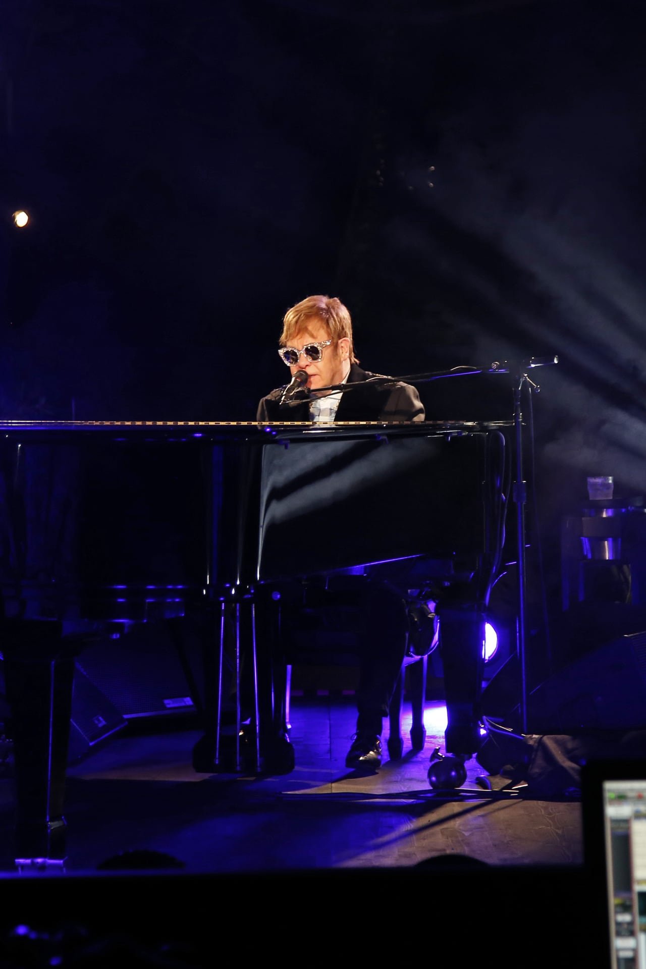 Elton John performs at Gucci resort 2019