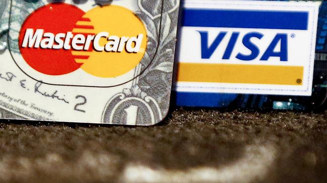 Australians owe nearly $52 billion in credit card debt. Picture: Keith Srakocic/AP