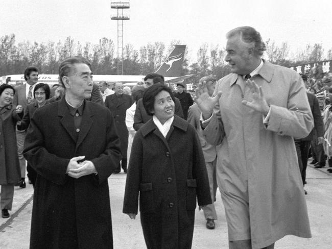 Visionary ... Gough Whitlam was the first Australian Prime Minister to visit China.
