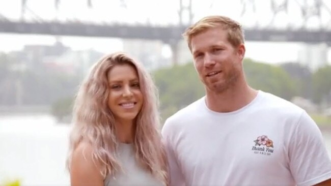 Ryan Solomon and wife Amy.