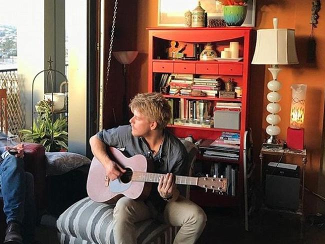 Jackson Odell provided songs for the soundtrack to Forever My Girl. Picture: Instagram