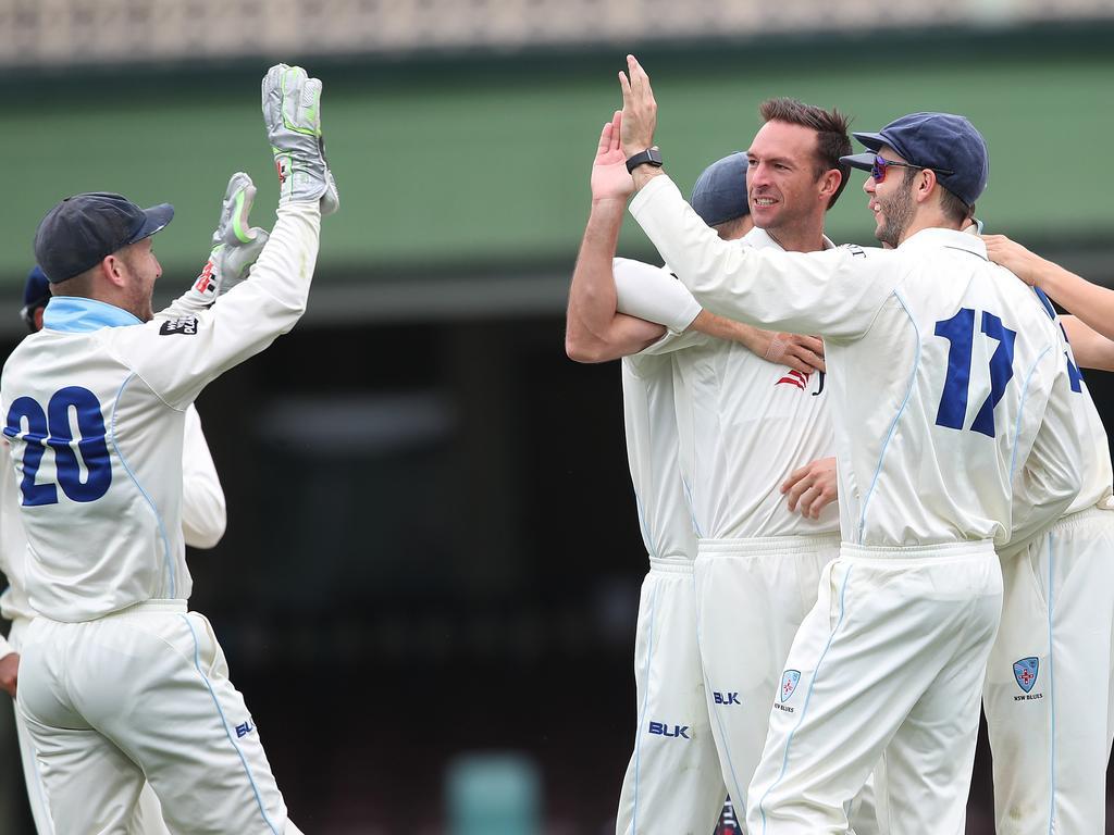 Cricket Shield NSW v TAS