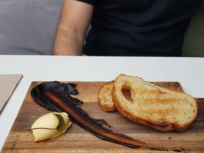 The vegemite toast for $7 got a reaction earlier this year for being peak hipster.