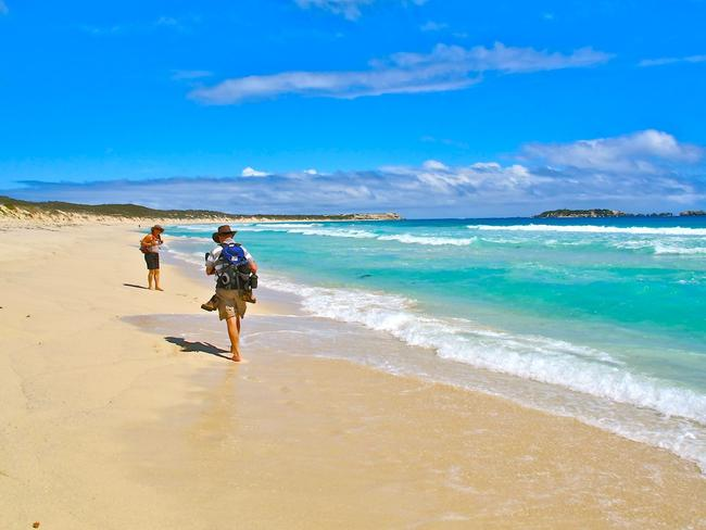 Cape to Cape walking tours take you right along the Margaret River coast. Picture: Courtesy Yasha Hetzel / Cape to Cape walking tours