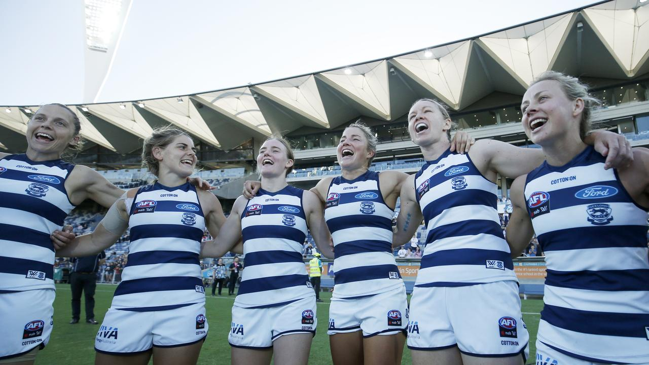 Geelong was one of the clubs that voted no to the proposal. Photo: Darrian Traynor/Getty Images.