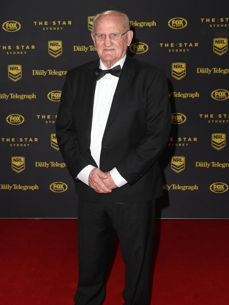 Arthur Summons pictured arriving at the 2015 Dally M Awards.