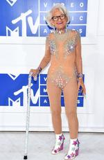 Social media star Baddie Winkle attends the 2016 MTV Video Music Awards at Madison Square Garden on August 28, 2016 in New York City. Picture: AFP