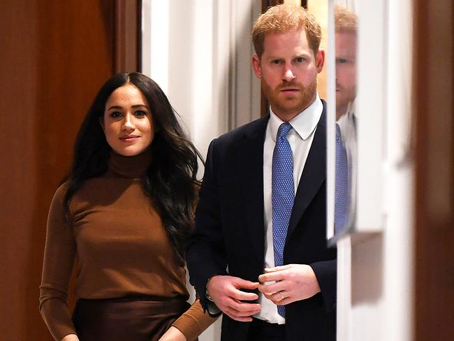 Harry and Meghan's Canadian funding will be cut off at the end of March. Picture: Daniel Leal-Olivas/Getty Images