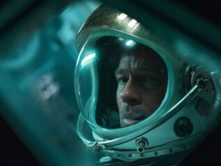 Brad Pitt is at his best in Ad Astra. Image: Fox