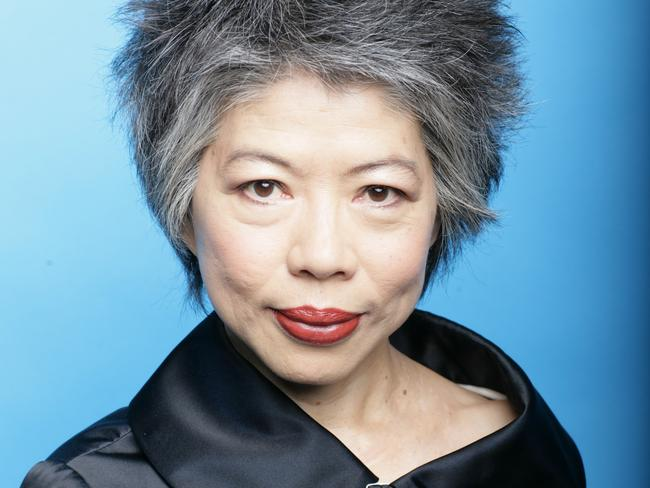 TV queen Lee Lin Chin.