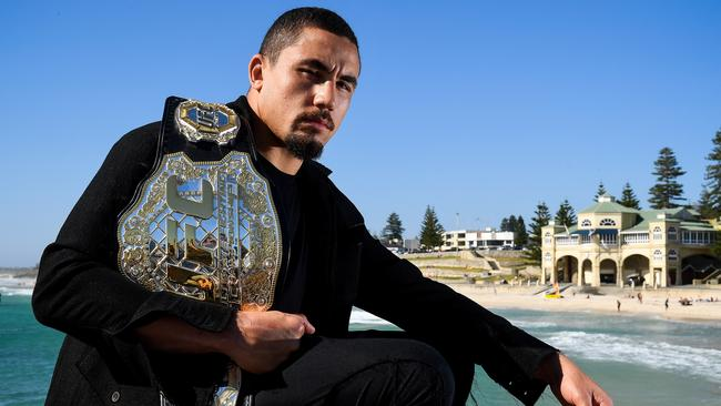 Robert Whittaker could feature in wrestling at the 2018 Commonwealth Games. (Photo by Daniel Carson/Getty Images)